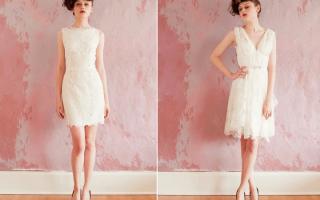 Прямые свадебные платья: рекомендации по выбору