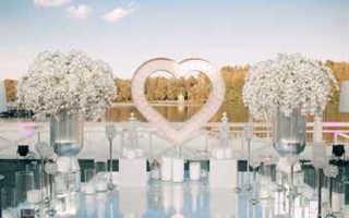 Свадебные тенденции в оформлении в 2020: цвета, темы, элементы декора