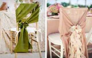 Свадебный бант своими руками — где использовать в декоре?
