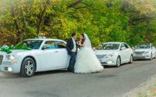 Свадебный кортеж — традиционные и оригинальные идеи
