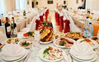 Стол на свадьбу: блюда, которые стоит приготовить