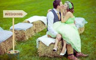 Свадьба в стиле кантри — просто и со вкусом