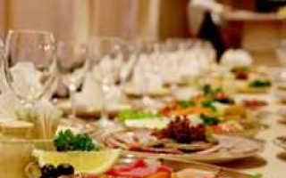 Банкет на свадьбу: что нужно знать