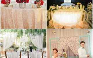 Оформление зала на свадьбу: необычные, яркие идеи