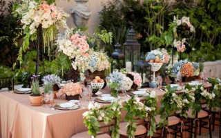 Украшение свадьбы летом — идеи с фото и видео