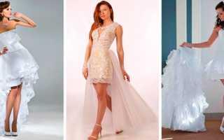 Свадебное платье трансформер фото