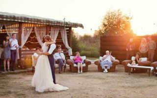 Свадьба на даче: меню для банкета на свежем воздухе