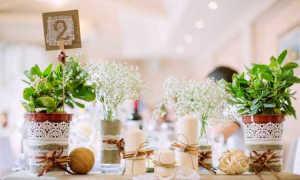 Декор для свадьбы в стиле рустик, как остаться в рамках стиля