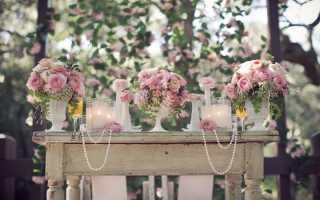 Роскошная свадьба «винтаж» – как соответствовать стилю