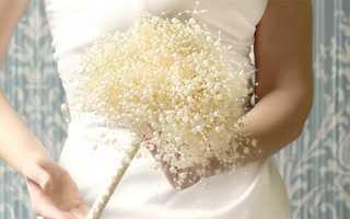 Эффектный свадебный букет из бисера: плюсы и минусы, материалы, уроки