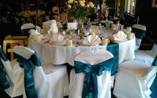 Правила оформления свадьбы в стиле «Тиффани» – что велит мода