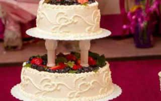 Весенний свадебный торт: фото-идеи и видео-уроки