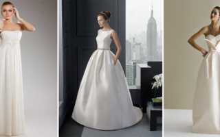 Ткани для свадебных платьев