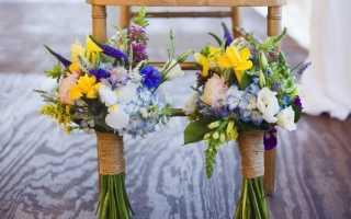 Свадебный букет из полевых цветов – выбор стильных невест