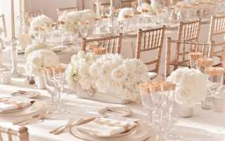 Тонкости оформления свадьбы в цвете айвори: как не ошибиться