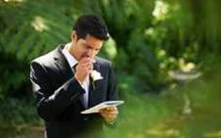 Слова гостям на свадьбе: как готовить речь