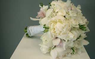 Элегантный осенний букет невесты: тонкости правильного выбора