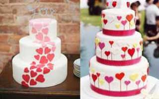 Торт на свадьбу своими руками не хуже, чем у кондитеров