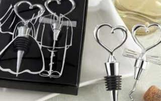 Полезные подарки гостям на свадьбе — лучшие идеи
