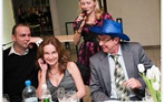 Шуточные гости на свадьбе — перезнакомим всех
