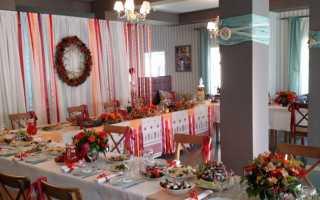 Важные советы по оформлению свадьбы в русском стиле