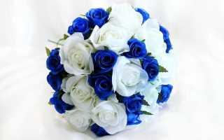 Выбираем синий букет невесты: цветы и лучшие сочетания