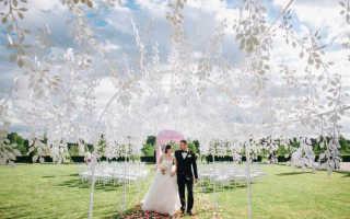 Элементы декора свадьбы — самые яркие идеи