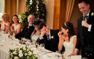 Короткие и прикольные тосты на свадьбу своими словами — готовим заранее