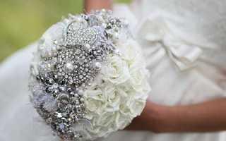 Необычный букет-дублер для невесты своими руками: видео и план действий