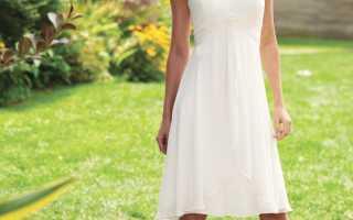 Выбор свадебного платья для невысоких девушек – разбор сложностей