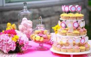 Сладкий стол на свадьбу — идеи для меню и декора