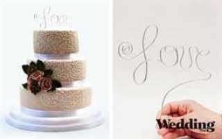 Как украсить торт на свадьбу мастикой, фруктами или шоколадом