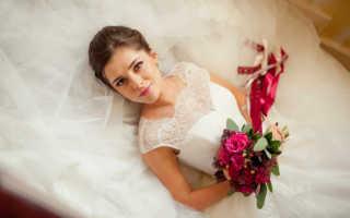 Свадьба в цвете марсала — благородная роскошь