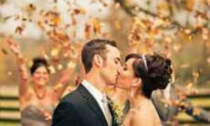 Оформление свадьбы осенью — примеры и идеи