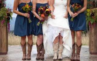 Оригинальное свадебное платье в стиле «рустик»: основные отличия