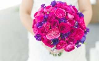 Розовый букет невесты – несколько оригинальных идей