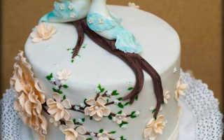Торт на юбилей свадьбы — заказываем в кондитерской или делаем сами