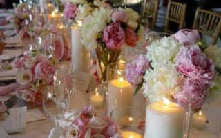 Оформление свадьбы цветами: идеи, советы и видео-уроки