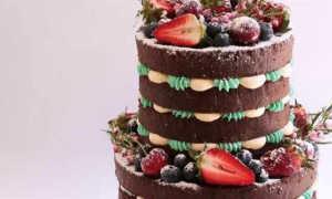 Голый торт на свадьбу — как выбрать или сделать самим