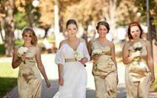Свадьба в золотом оформлении — эффектно и красиво