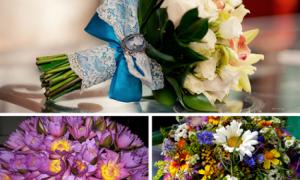 Какие цветы дарить на свадьбу и на годовщины брака