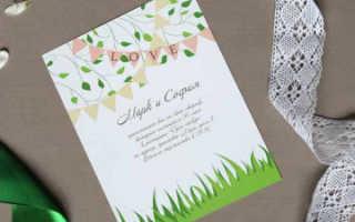 Идеи оформления весенней свадьбы: фото, видео и мастер-классы