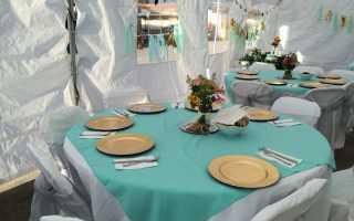 Советы по использованию мятного цвета в оформлении свадьбы