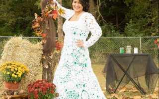 Как правильно выбрать вязаное свадебное платье: все самое интересное