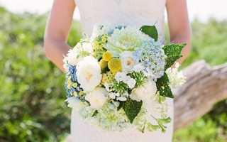 Летние свадебные букеты: самые яркие варианты для невест