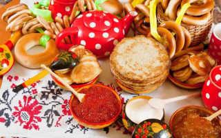 Меню русской свадьбы: обязательные блюда, особенности кухни