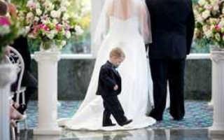 Маленькие дети на свадьбе: миссия выполнима.