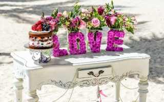 Тонкости оформления свадьбы в стиле «шебби-шик»