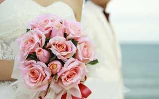 Создание букета невесты из живых цветов своими руками пошагово