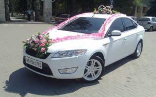 Украшаем свадебную машину своими руками